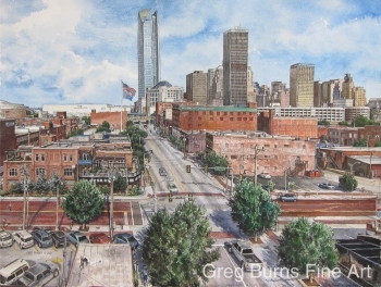 Skyline, Oklahoma City, 2012