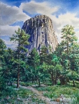 Devil's Tower, WY
