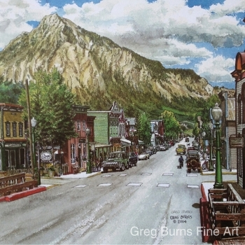 Crested Butte, Elk Avenue